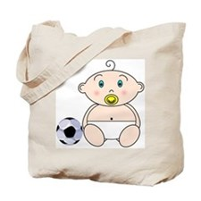 Soccer Baby Tote Bag