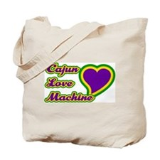Cajun Love Machine Tote Bag