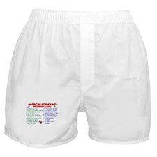 American Foxhound Property Laws 2 Boxer Shorts