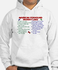 American Foxhound Property Laws 2 Hoodie