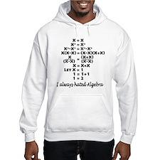 I Hate Algebra Hoodie