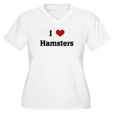 I Love Hamsters T-Shirt