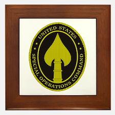 US SPECIAL OPS COMMAND Framed Tile