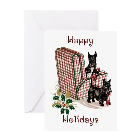 Vintage Style Christmas Greeting Card