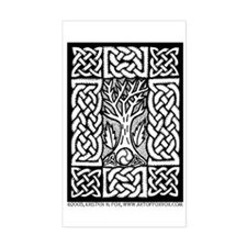 Celtic Knot Bare Branches Decal