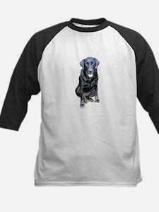 Black Lab Dog Tee