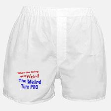 Weird Turn Pro Boxer Shorts