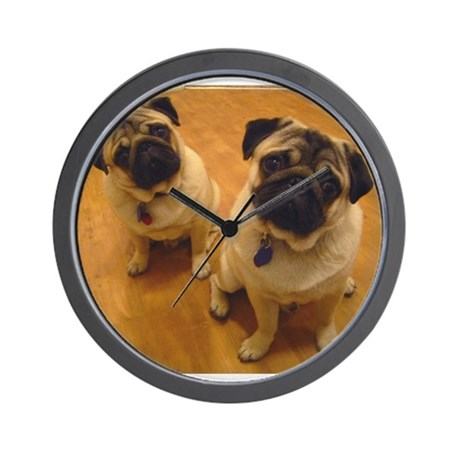 Gizmo and Gadget Wall Clock