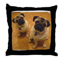 Gizmo and Gadget Throw Pillow