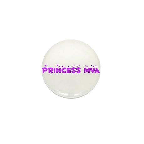 Princess Mya Mini Button