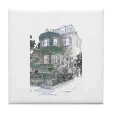 House of Ivy Tile Coaster