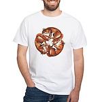 Celtic Foxes White T-Shirt