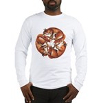 Celtic Foxes Long Sleeve T-Shirt