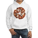 Celtic Foxes Hooded Sweatshirt