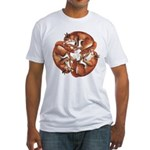 Celtic Foxes Fitted T-Shirt