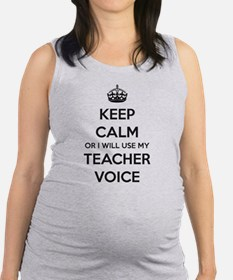 Gifts For Teachers Maternity Tank Top