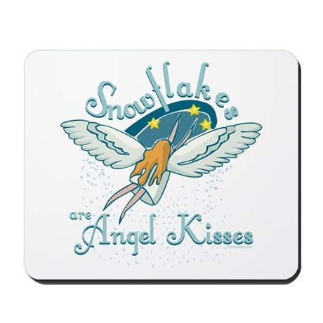 Angel Kisses Mousepad