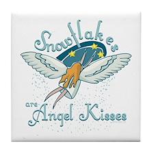 Angel Kisses Tile Coaster