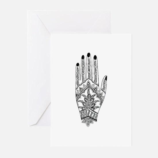 Mehndi Design 1 Greeting Cards (Pk of 10)