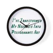 Performance Art Wall Clock