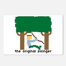 the original swinger - Postcards (Package of 8)