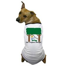 the original swinger - Dog T-Shirt