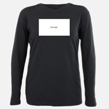 Unique Free hugs Plus Size Long Sleeve Tee