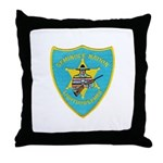 Seminole Nation Police Throw Pillow