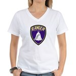 Riverside County Ranger Women's V-Neck T-Shirt