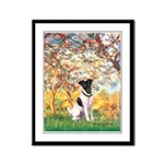 Spring / Fox T (1) Framed Panel Print