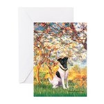 Spring / Fox T (1) Greeting Cards (Pk of 20)