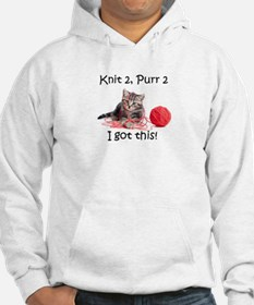 Knit2Purr2 Hoodie