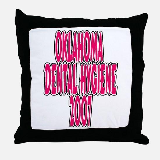 dental hygeine 2007 Throw Pillow