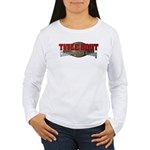 Title Bout Championship Boxing Logo Long Sleeve T-