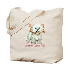 Westhighland White Terrier Lo Tote Bag