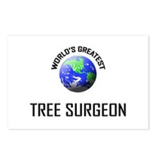 World's Greatest TREE SURGEON Postcards (Package o