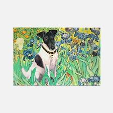 Irises / T (#1) Rectangle Magnet (10 pack)