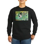 Irises / T (#1) Long Sleeve Dark T-Shirt