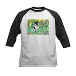 Irises / T (#1) Kids Baseball Jersey