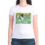 Irises / T (#1) Jr. Ringer T-Shirt