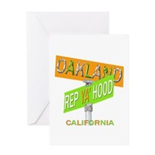 REP OAKLAND Greeting Card