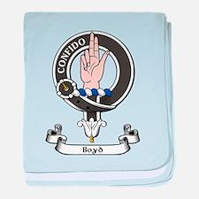 Badge - Boyd baby blanket