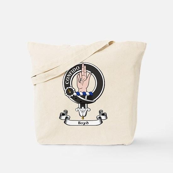 Badge - Boyd Tote Bag