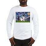 Starry / Fox Terrier (#1) Long Sleeve T-Shirt