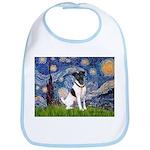 Starry / Fox Terrier (#1) Bib