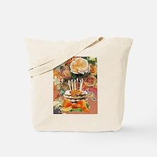 Coral Birthday Tote Bag