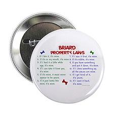 "Briard Property Laws 2 2.25"" Button"