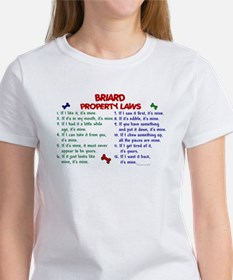 Briard Property Laws 2 Tee