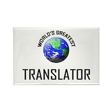 World's Greatest TRANSLATOR Rectangle Magnet