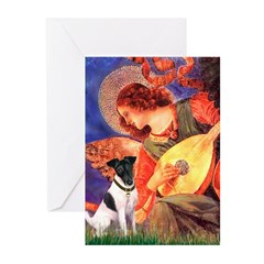Mandolin / Smooth T (#1) Greeting Cards (Pk of 20)
